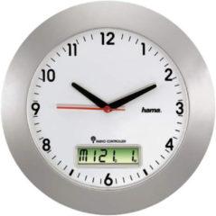 Hama DCF-Funkwanduhr RCW500 mit digitalem Kalender »Automatische Zeitanpassung«