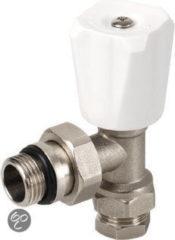 Plieger Radiatorkraan 15 mm Klem x 1/2'' Buitendraad