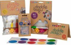 DoddleBags Box - Compleet - incl. knijpzakjes 100 ml. en 200 ml.