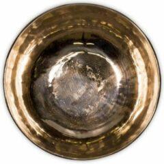 Goudkleurige Yogi & Yogini Klankschaal Ishana zwart/goud -- 1075-1200 g; 18.5 cm