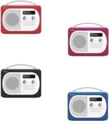 PURE Evoke D4 Mio DAB/DAB+/DMB Digitalradio mit UKW undBluetooth, versch. Farben Farbe: schwarz