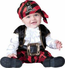 Zwarte INCHARACTER - Piraten kostuum voor baby's - Klassiek - 86 (18-24 maanden) - Kinderkostuums