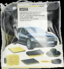 Dunlop Microvezel polijstset Voor de Auto 6 st