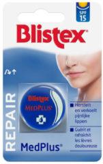 Transparante Blistex Med Plus potje - 7 gr - Lippenbalsam