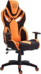 CLP Racing-Bürostuhl FANGIO mit hochwertiger Polsterung und Stoffbezug I Höhenverstellbarer Drehstuhl mit Laufrollen I In verschiedenen Farben erhältl