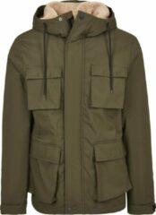 Urban classics Field Jacket olijf