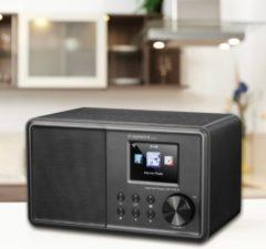 Albrecht DR 470 N Tafelradio met internetradio FM AUX, DLNA, WiFi, Internetradio Geschikt voor DLNA Zwart
