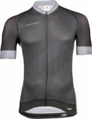 Grijze Vermarc ZigZag PRR Jersey Black/Grey Size S