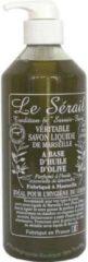 Le Serail Vloeibare olijven zeep zonder palm olie 500ml handpomp