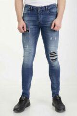 Blauwe Marshall Denim Jeans heren 2203/30 MarshallDenim