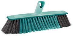 Turquoise Leifheit Xtra Clean Classic Allroundbezem - 30 Cm