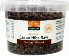 Mattisson HealthStyle Cacao Bonen Raw Gebroken 150gr
