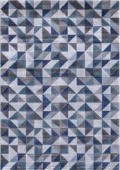 Impression Carpets Mykonos Basic Vloerkleed Grijs / Blauw Laagpolig - 80x150 CM