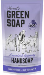 Marcel's Green Soap 11x Marcel's groen Soap Handzeep Lavendel&Rozemarijn Navul Stazak 500 ml