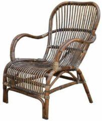 Bruine Sweet Living Rotan Loungestoel - 65x70xH88 cm
