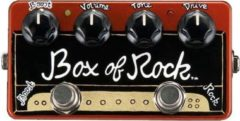 ZVEX Effects Box of Rock handbeschilderd distortion pedaal