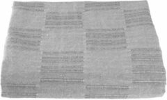 Lucy's Living Lucy's Living Luxe STORY Beddensprei blokjes - 160 x 220 cm - grijs – tweepersoons – beddengoed – slaapkamer – spreien - polyester - katoen