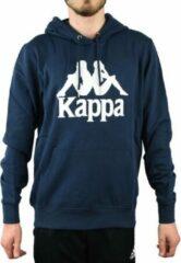 Kappa Taino Hooded 705322-821, Mannen, Marineblauw, Sporttrui casual maat: L