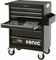 SONIC Equipment Sonic Gereedschapswagen leeg 7 laden S8