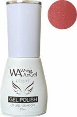 Roze Gellex White Angel Gellex Deluxe Gel Polish, gellak, gel nagellak, shellac - Tutu 115