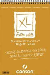 Canson schetsblok XL Extra White formaat 297 x 42 cm (A3)