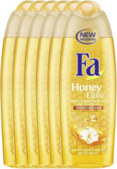 Fa Shower Gel Honey Elixir Voordeelverpakking - 6 x 250ml