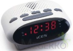 Witte Ices Electronics Ices Icr-210 - Wekkerradio - Wit