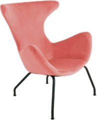 Kick Collection Kick fauteuil Velvet Billy - Roze