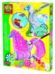 SES Creative knutselset, 'Gipsfiguur paard met manen'
