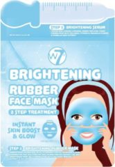 Blauwe W7 cosmetics W7 Brightening Rubber Face Mask