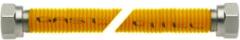 Roestvrijstalen Electradeel Bonfix Gasslang rvs geel 80 CM