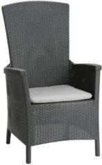 BEST Relax-Sessel Capri 2-er Set, Vollkunststoff, Rückenlehne 4-fach verstellbar