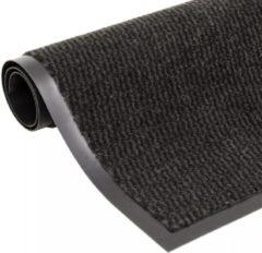 In trade VidaXL Droogloopmat rechthoekig getuft 40x60 cm zwart