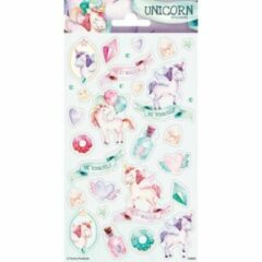 Haza Original Stickerset Unicorn Roze/groen