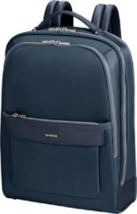 Donkerblauwe Samsonite Laptoprugzak - Zalia 2.0 Backpack 15.6 inch Midnight Blue