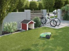 Weka garage voor maairobot 367 zweeds rood 67x75cm