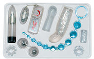 Zilveren You2Toys Crystal Clear Vibrator Set