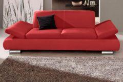 Max Winzer® 2-Sitzer Sofa »Toulouse« mit klappbaren Armlehnen, Breite 190 cm