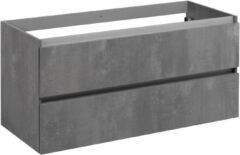Saniselect Guarda Onderkast 120x50,5x60 cm Beton Grijs