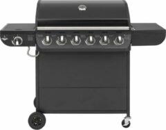 El Fuego Columbus 6.1 Gasbarbecue - 7 branders - Zwart