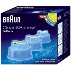 Procter&Gamble Braun CCR 4+1 - Reinigungskartusche Rasierer-Zubehör CCR 4+1, Aktionspreis