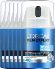 L'Oréal Paris Men Expert Loreal Paris Men Expert Hydra Power Hydraterende Verfrissende Gel Voordeelverpakking