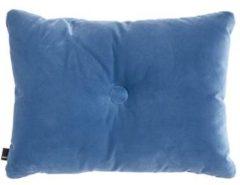 Lichtblauwe Hay Dot sierkussen 60 x 45 cm
