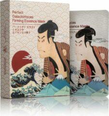 Witte Mitomo Japan Mitomo Samurai White Gezichtsmasker - Anti Aging Face Mask - Gezichtsverzorging Masker voor Mannen