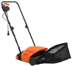 Oranje VidaXL Elektrische gazonhark 20 L 400 W
