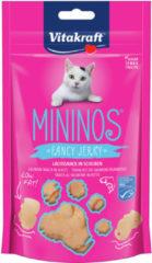 Vitakraft Mininos Fancy Jerky - Kattensnack - Zalm 40 g