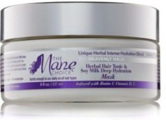 The Mane Choice Heavenly Halo Herbal Hair Tonic & Soy Milk Deep Hydration Mask 237ml