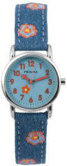 Coolwatch by Prisma CW.323 Kinderhorloge Denim staal/canvas Blauw 26 mm