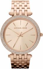 Michael Kors MK3192 Horloge Darci staal rosékleurig 39 mm