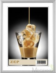 Zep - Aluminium Fotolijst Ombretta Zilver Voor Foto Formaat 10x15 - Al1s1